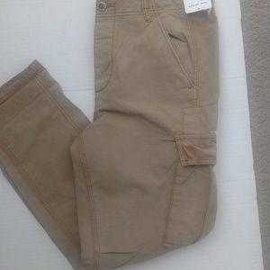 NWT Free Poeple women cargo pants distress sz10